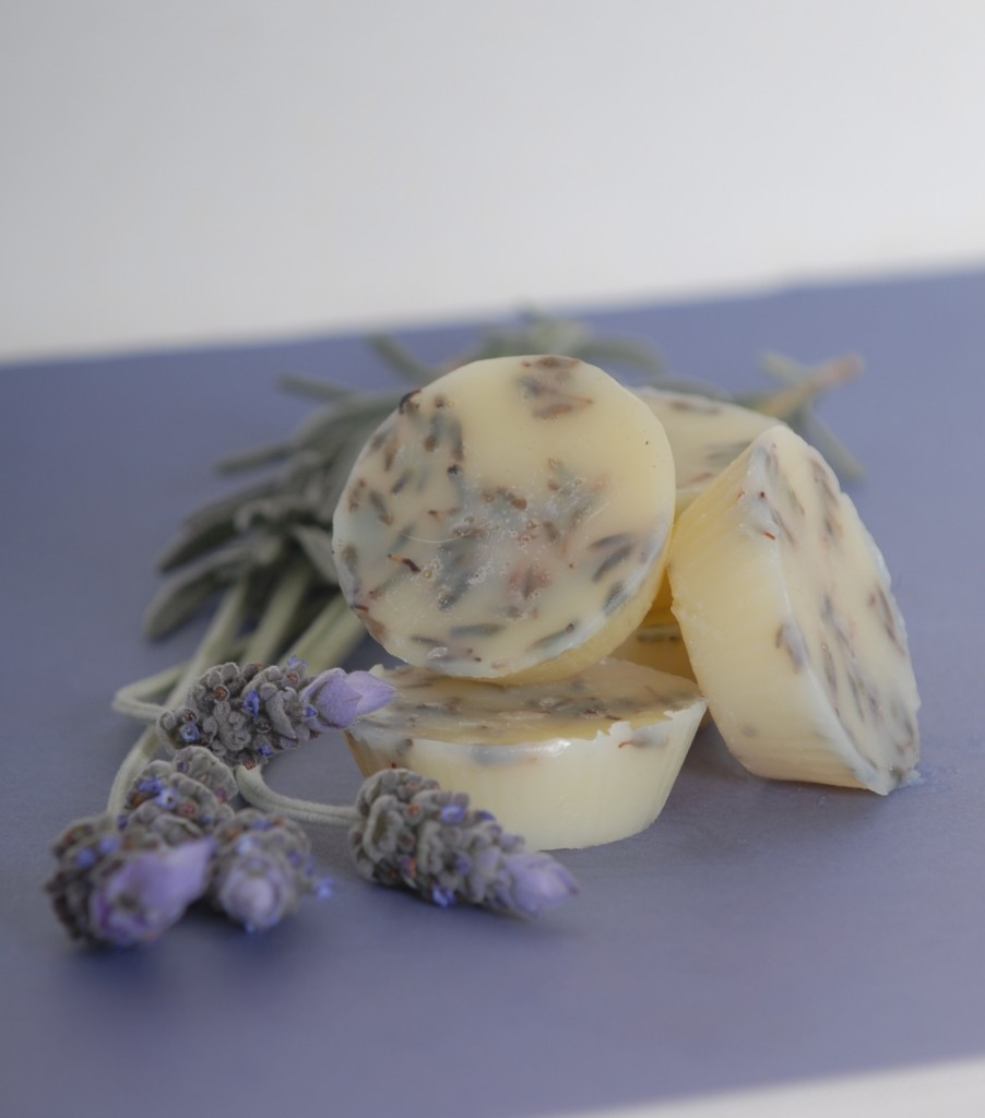 Mini Lavender Cupcake Bath Melts-2
