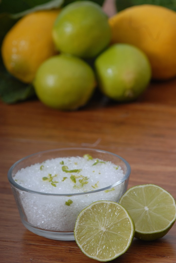 DIY Lime Coconut Epson Bath Soak