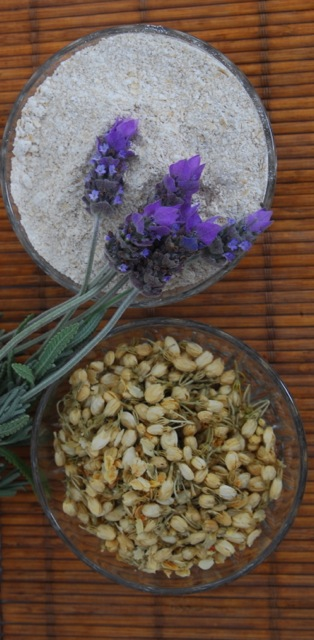 Jasmine & lavender de-stress bath tea