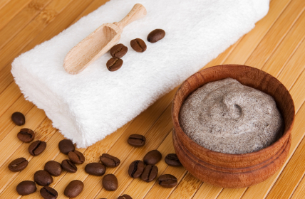 Simple Kitchen Hand Exfoliator, Cocoa Butter & Coffee