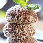 Bee Pollen Chocolate Coconut Truffles