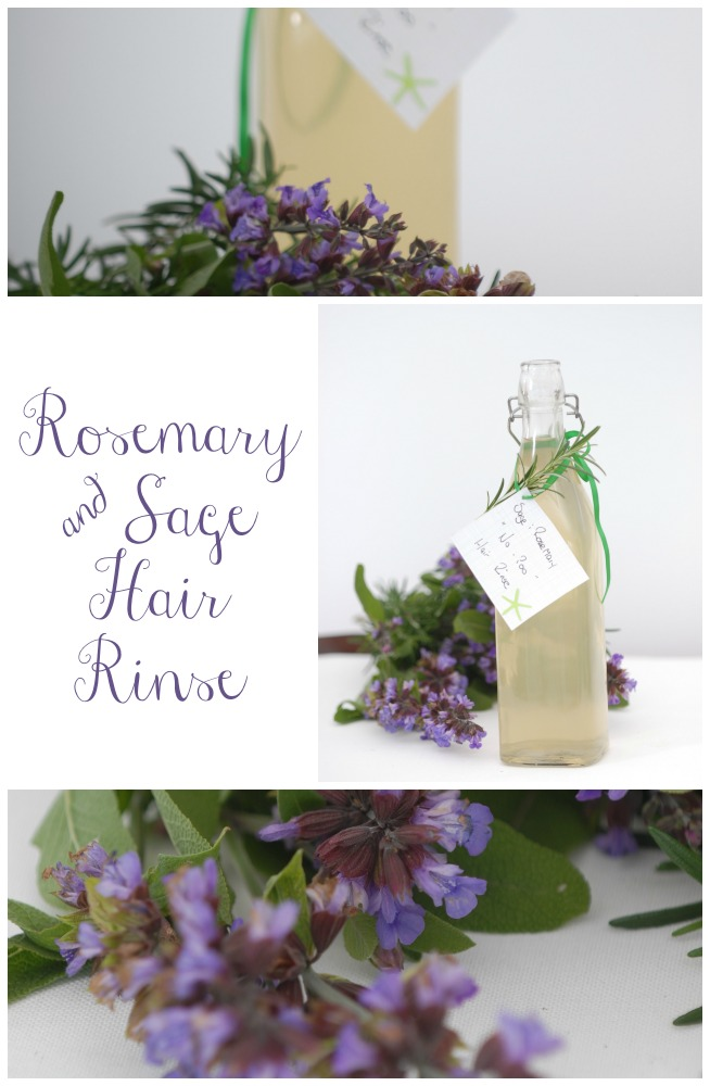 Rosemary & Sage Hair Rinse no poo