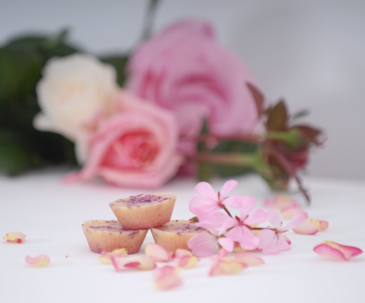 easy rose bath melts
