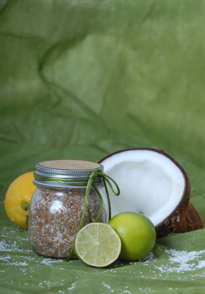 Lime & Coconut Sugar Scrub