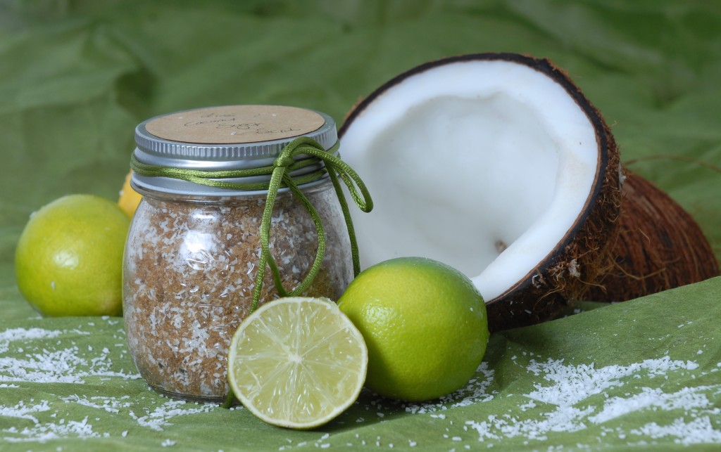 Natural DIY  Lime & Coconut