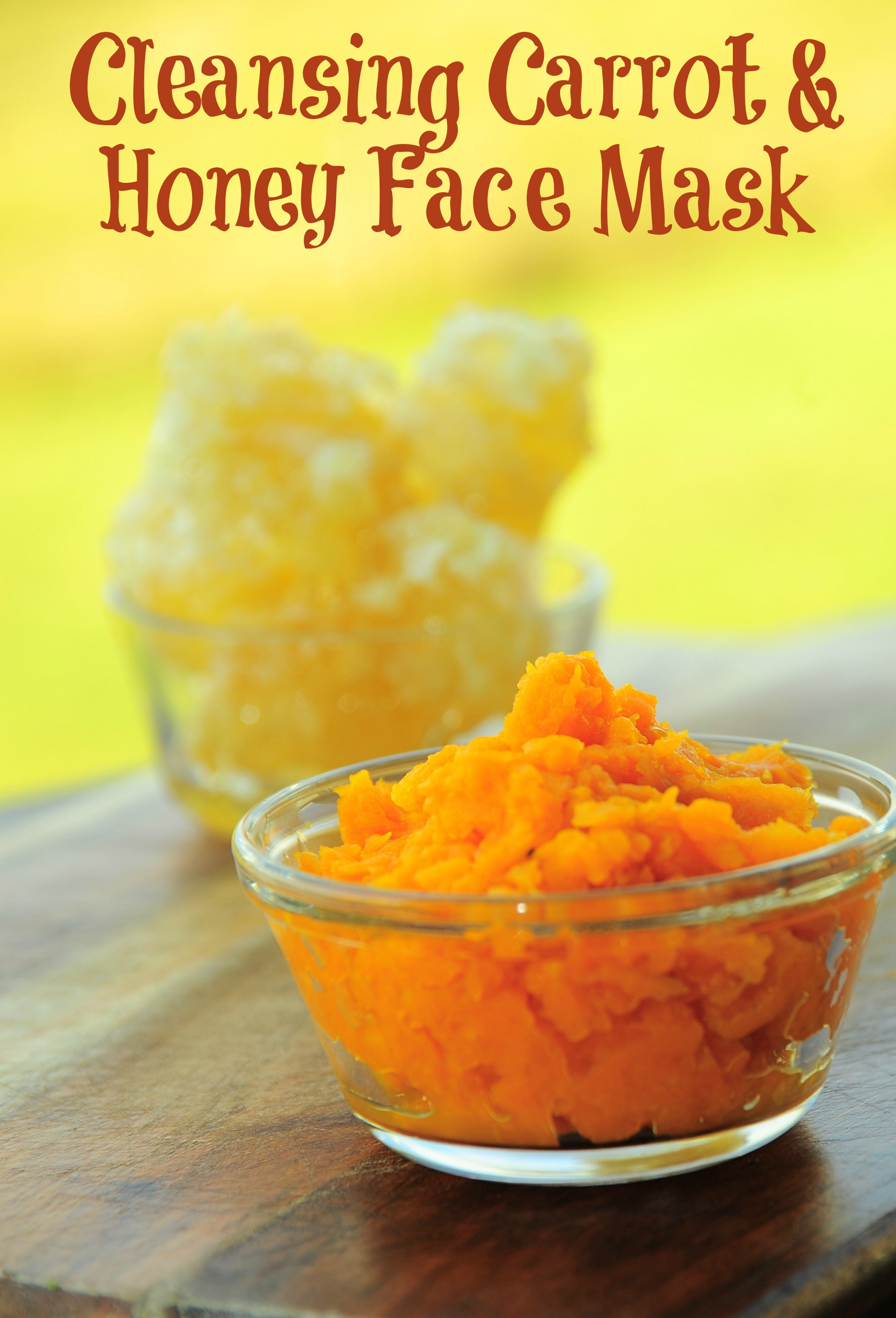 Make Your Own Carrot & Honey Face Mask