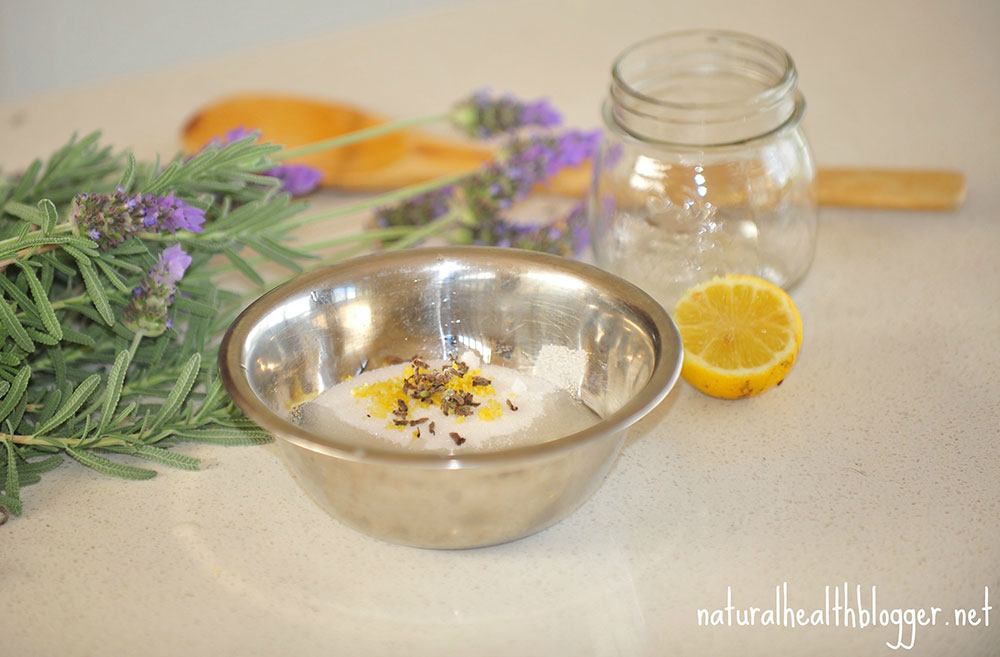 Lavender & Lemon Coconut Sugar Scrub